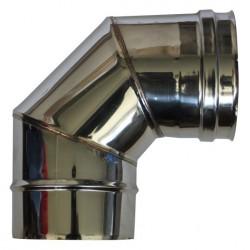 Longueur droite ajustable 420 à 670 mm double paroi - 150/200