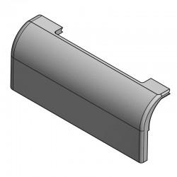 Paroi céramique gauche du cendrier pour chaudière Defro HG 25 kW