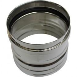 Poêle à pellets canalisable Olga 501 L Slim Céramique noir