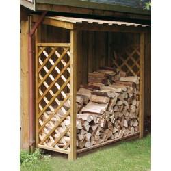Abri à bois