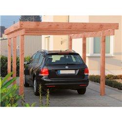 Abri à voitures (Carport) Amrun autoclave toit aluminium