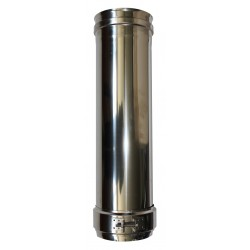 Bouchon de condensation double paroi Inox - Diamètre int/ext: 100-150