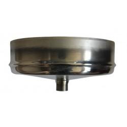Réduction simple paroi Inox - Diamètre: 100 M-140 F