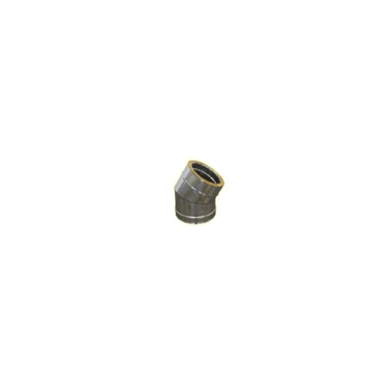 Longueur droite ajustable 420 à 670mm double paroi - Diamètre int/ext: 100-150