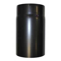 collier de fixation mural réglable noir - Diamètre 80 mm