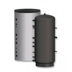 Longueur droite noir 25 cm - Diamètre 80 mm