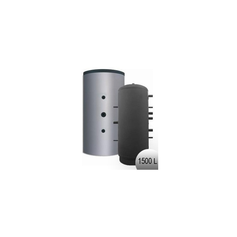 Longueur droite noir 50 cm - Diamètre 80 mm